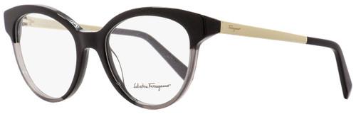 Salvatore Ferragamo Round Eyeglasses SF2784 013 Black/Gray 53mm 2784