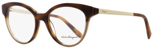 Salvatore Ferragamo Round Eyeglasses SF2784 254 Havana/Blush 53mm 2784