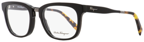 Salvatore Ferragamo Rectangular Eyeglasses SF2785 006 Shiny Black/Havana 53mm 2785