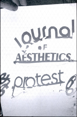 Journal of Aesthetics & Protest 6