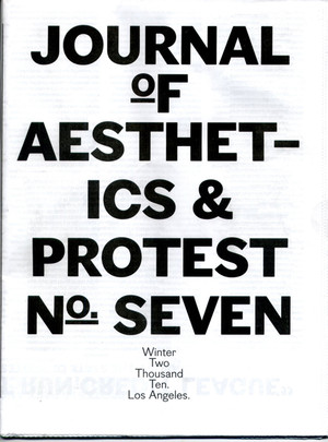 Journal of Aesthetics & Protest 7