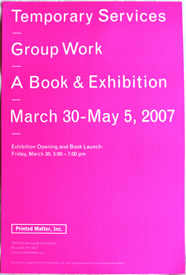 Group Work (Temporary Services)