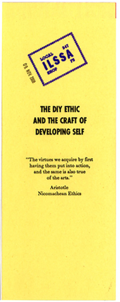 The DIY Ethic & The Craft of Developing Self