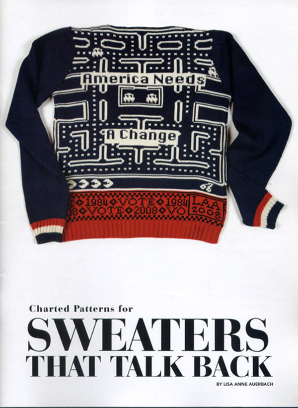 Charted Patterns for Sweaters That Talk Back