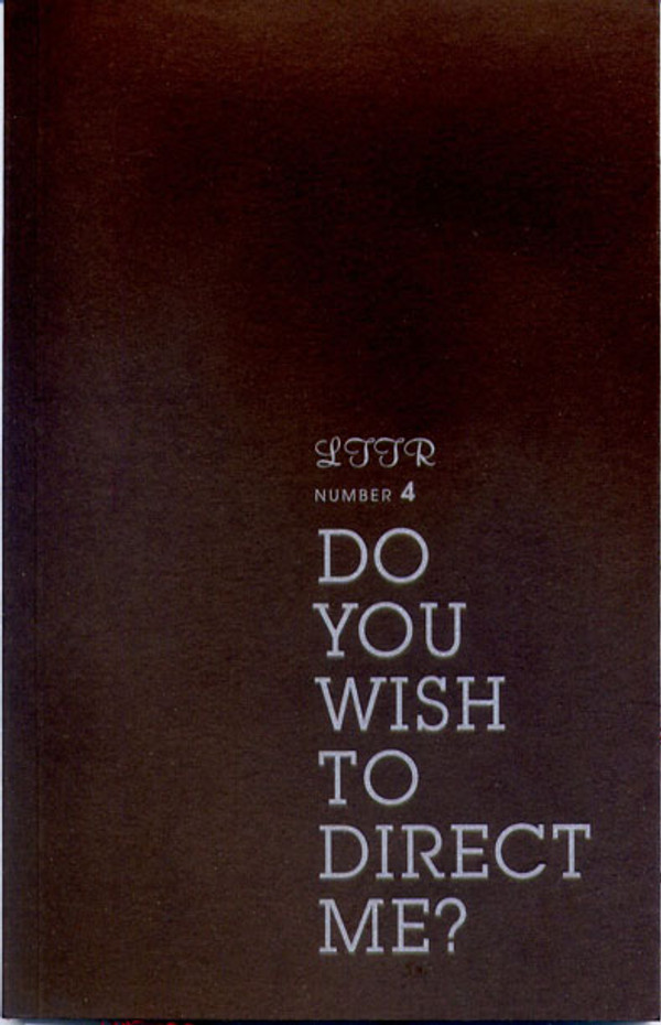 LTTR 4 - Do You Wish To Direct Me?