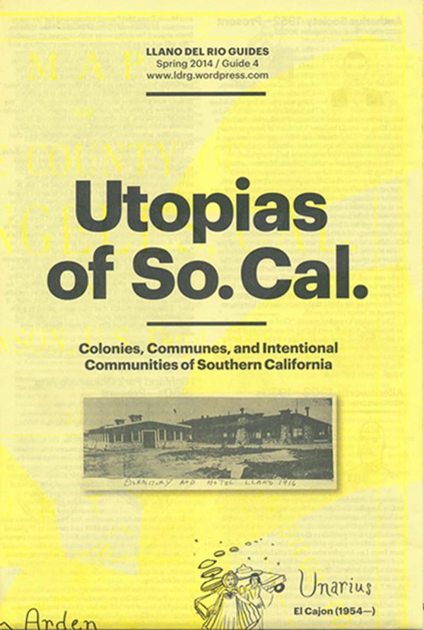 Utopias of So. Cal. folded 1