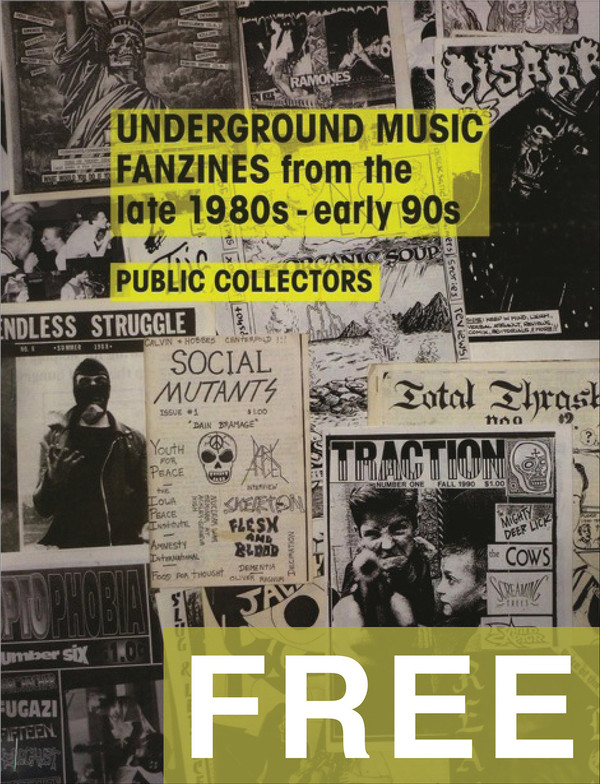 Underground Music Fanzines from the late 1980s - early 1990s