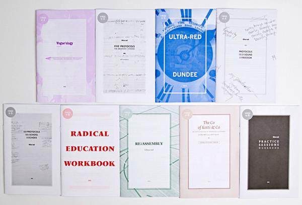 Ultra-red: Nine workbooks 2010-2014