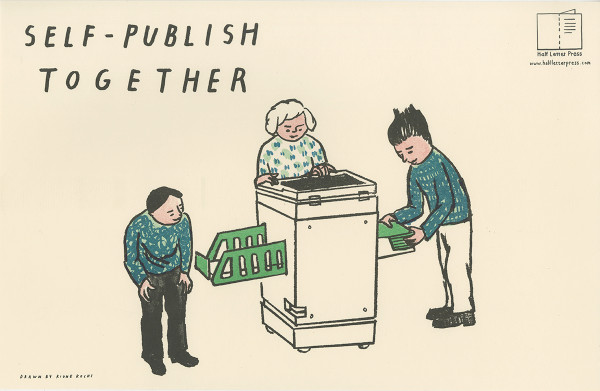Self-Publish Together poster