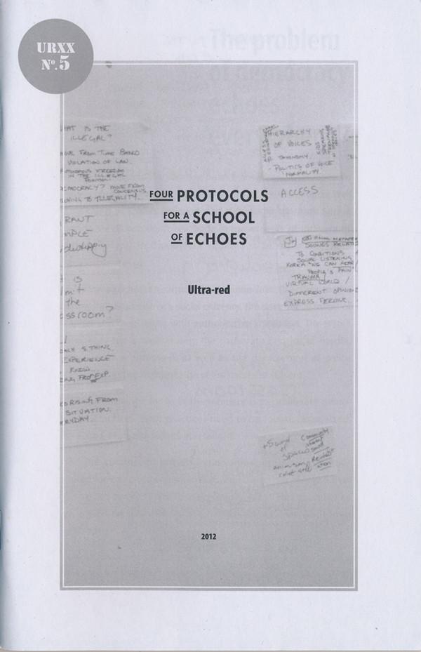 Ultra-red: Nine workbooks 2010-2014 [PDFs]