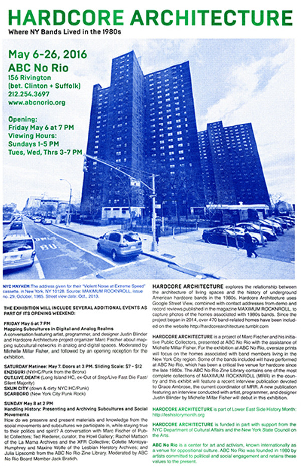 Hardcore Architecture NY Poster Set