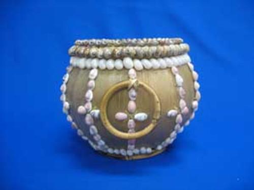 Takong Basket w/ Two Rattan Ring Handles