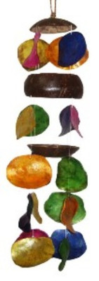 Three Cut Coco/Placuna Windchime