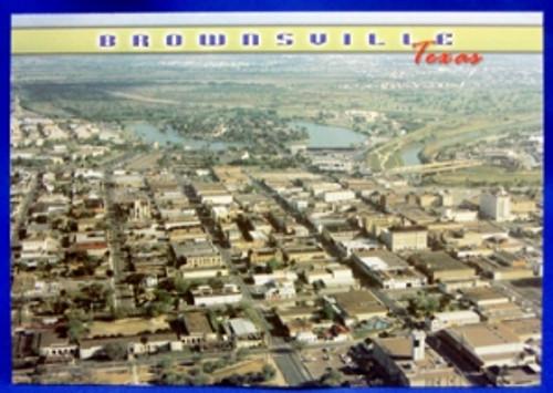 Brownsville Aerial Postcard