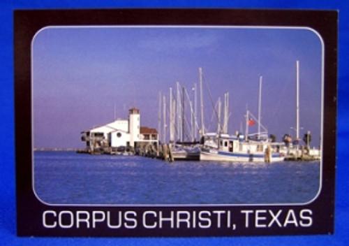 Corpus Christi Dock Postcard