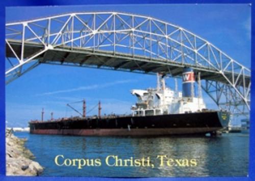 Corpus Christi Harbor Postcard