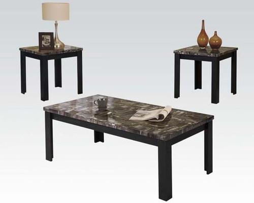 Carly II Faux Marble Top