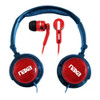 Naxa DJ Z Ultra headset combo kit RED