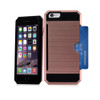 Credit case for iPhone 10 Rose Gold