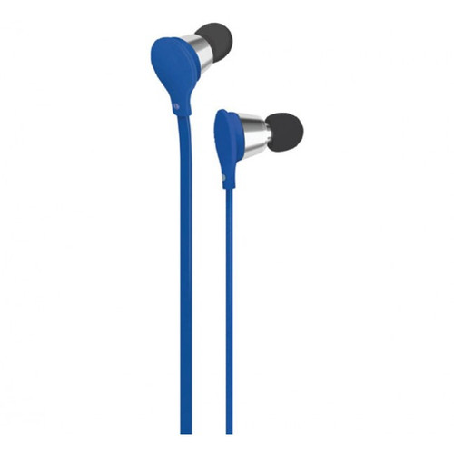 att jive earbuds with mic-vol control blue