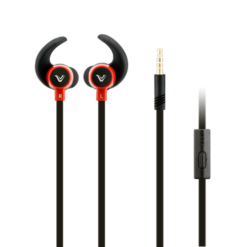 Votec in ear headset red