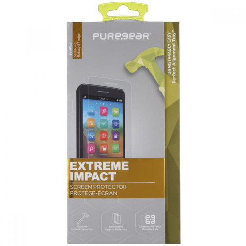 puregear hd extreme shield screen protector for galaxy s7 edge