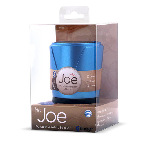 AT&T Hot Joe Bluetooth Speaker Blue