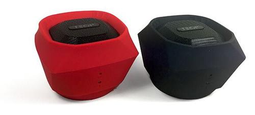 TECH 2 Diamond Splashproof Bluetooth Speaker-Red
