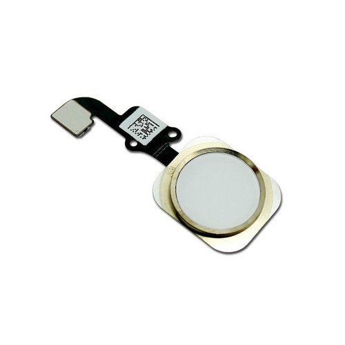 iPhone 6 Home Button with Flex Gold