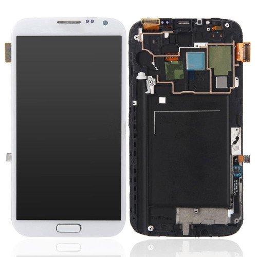 Samsung Galaxy Note 2 N7100 Lcd W/Digitizer White