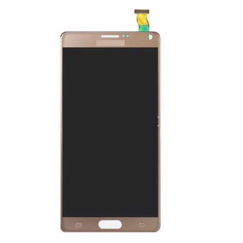 Samsung Galaxy Note4 N910 Lcd W/Digitizer Gold