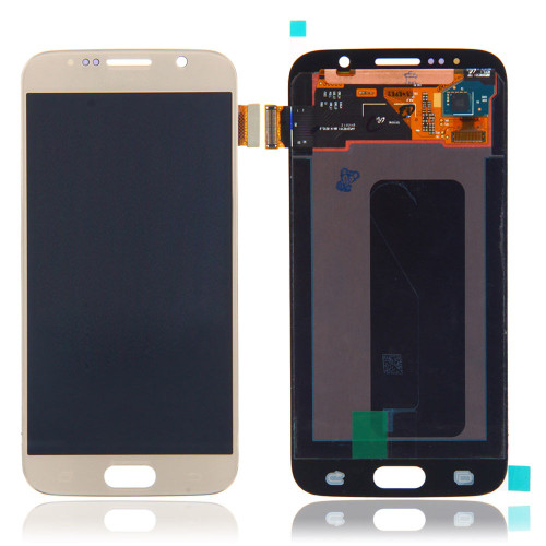 Samsung Galaxy S6 G920 Lcd W/Digitizer Gold