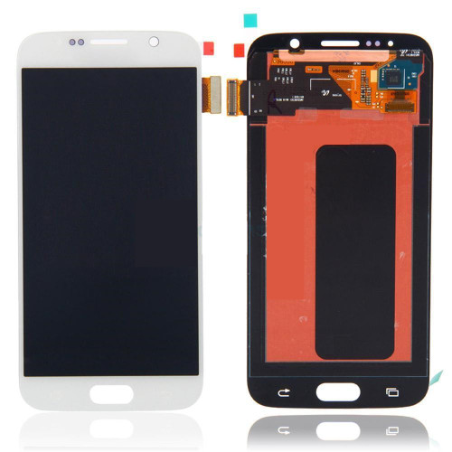 Samsung Galaxy S6 G920 Lcd W/Digitizer White