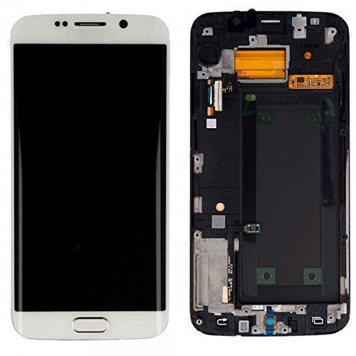 Samsung Galaxy S6 Edge G925i Lcd W/Digitizer White