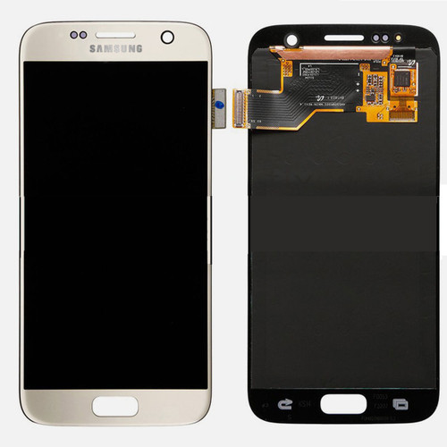Samsung Galaxy S7 G930 Lcd W/Digitizer Gold