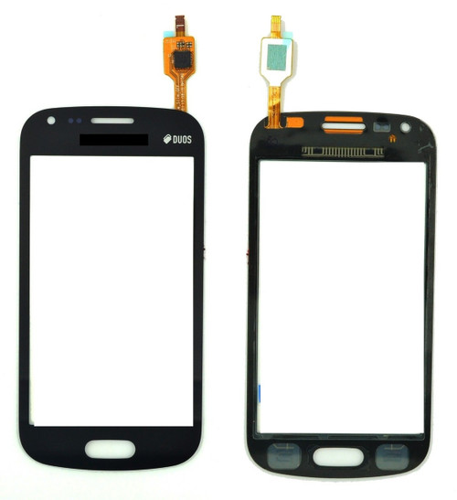 Samsung Galaxy S Dous S7562  Black Digitizer