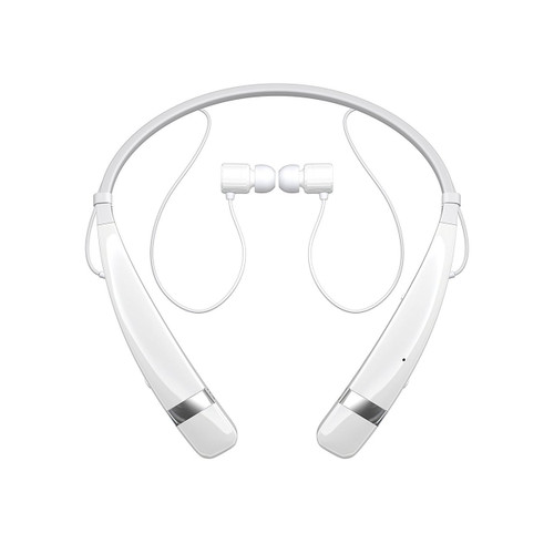 LG HBS-760 AGEUWH BLUETOOTH BLUETOOTH WIRELESS STEREO HEADSET WHITE
