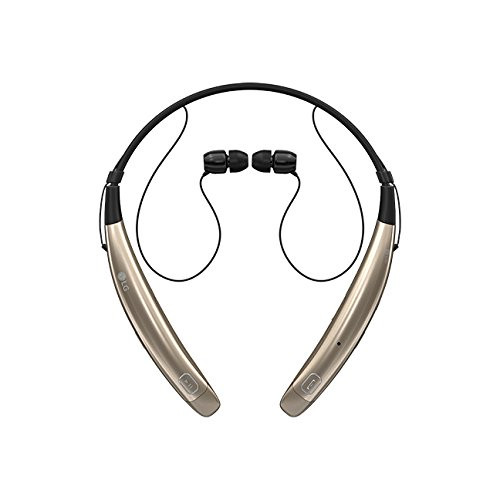 LG HBS-770 AGSAGD LG TONE PRO BLUETOOTH WIRELESS STEREO HEADSET GOLD