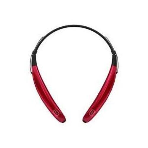 LG HBS-770 AGSARD LG TONE PRO BLUETOOTH WIRELESS STEREO HEADSET RED