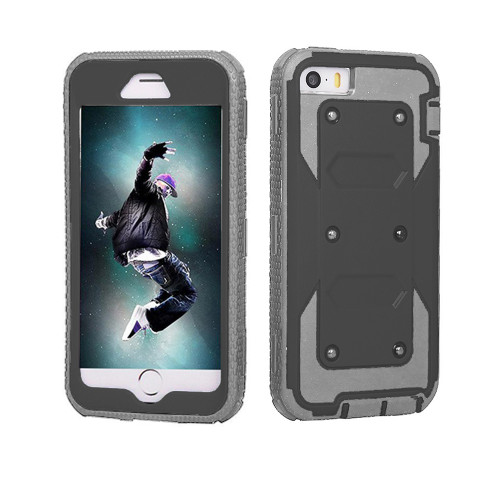 protector guard case for iphone 6 black-gray