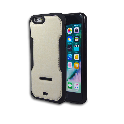 safary tpu case for iphone 6 white-black