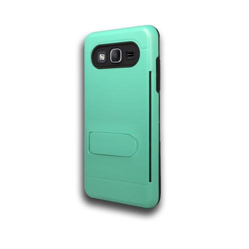 ID Ultrathin Hybrid Case with Kickstand for Samsung Galaxy J5 Aqua