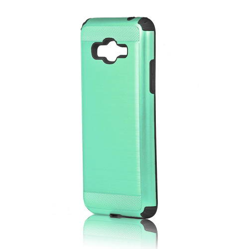 hard pod hybrid case for samsung galaxy j5 (2016) aqua-black