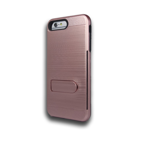 ID Ultrathin Hybrid Case with Kickstand for Samsung Galaxy ON5 G550 Rose Gold