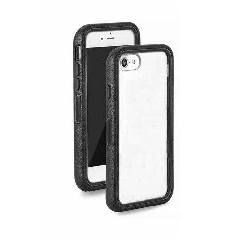 dual-side clear guard case for samsung galaxy s6 black