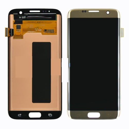 Samsung Galaxy S7 Edge G935 Lcd W/Digitizer Gold