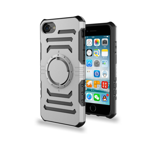 Ab Pro Armband Case with Kickstand for iPhone 7/8 Silver