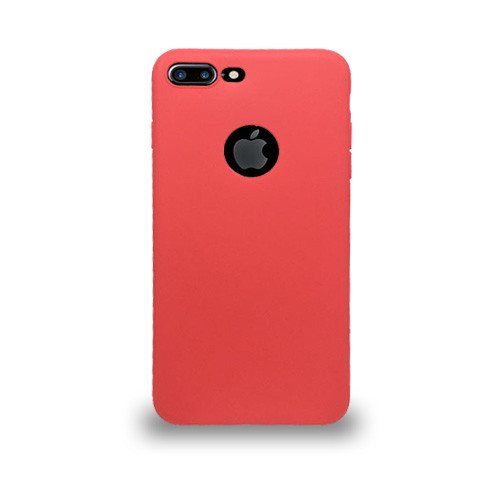 Jelly Skin Case for Iphone 7/8 Plus  Red