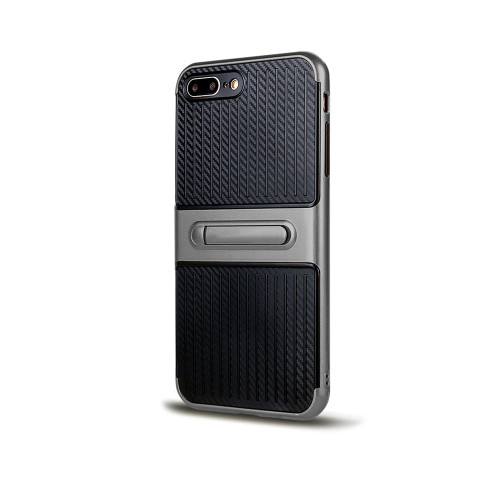 Traveler Hybrid Case with Kickstand for iPhone 5 | SE Titanium