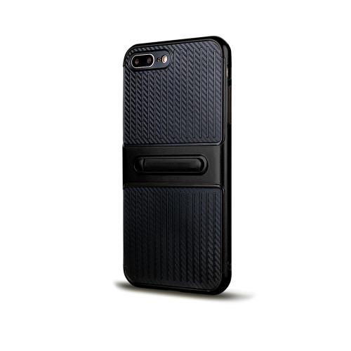 Traveler Hybrid Case with Kickstand for Samsung J7 Black